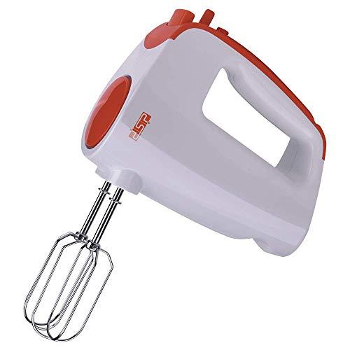 Batidor de mano para hornear Batidora de mano Mezclador de alimentos ajustable de 6 velocidades Batidor de mano Batidor eléctrico Botón Turbo para cocina Mermelada Pastel Revuelto Crema de h