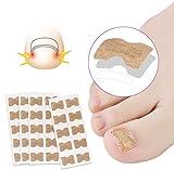 Toenail Correction Patch,50 PCS Adesivi per la cura del piede Adesivo per la correzione dell'unghia del piede Pedicure professionale Adesivi per uomo Donna