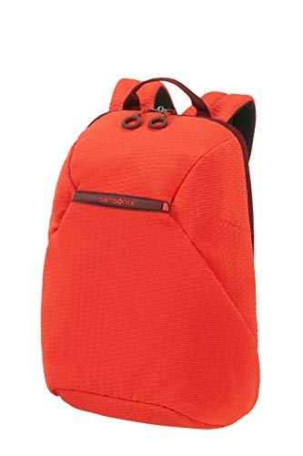 Samsonite Neoknit - 14 Pollici Zaino Porta PC, 42 cm, 16 L, Arancione (Fluo Red/Port)