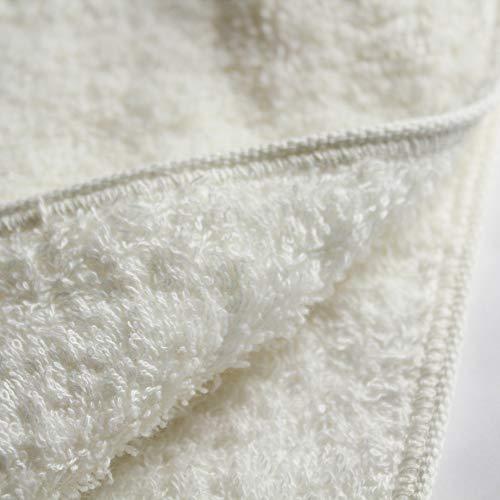 パイル部分、グランド部分すべてに厳選されたオーガニックコットンを使用。柔らかくボリューム感たっぷりの高級感あるタオルです。