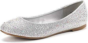 Best rhinestone flat shoes Reviews