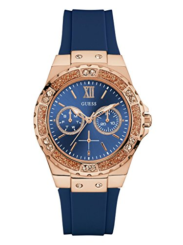 12 Best Women's Watches Under 200 (Reviews & Guide) - GUESS Women's Silicone Watch