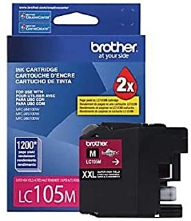 Brother LC105MS Super High Yield Ink Cart. Magenta