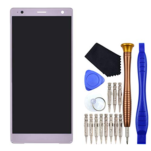 VEKIR Rosa Ceniza H8266 Pantalla LCD digitalizador de Pantalla reemplazo Compatible con Sony Xperia XZ2 H8216 H8296 H8276 702SO