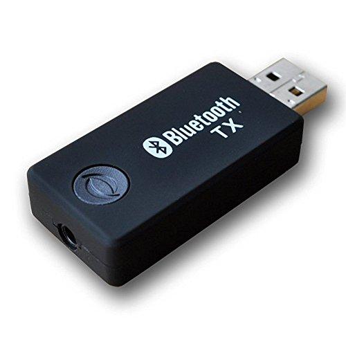Trasmettitore Bluetooth USB, Upintek Adattatore Wireless Portatile Musica,Stereo a bassa latenza ,per Dispositivi 3,5mm non-Bluetooth Audio