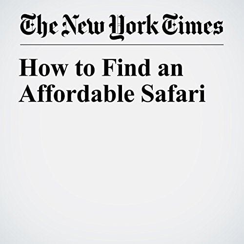 How to Find an Affordable Safari copertina