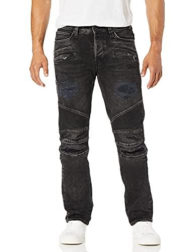HUDSON Jeans Men's Blinder Biker Moto Jean, Post Up, 34