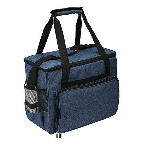 Breaden Nähmaschinentasche Nähmaschinen-Tragetasche wasserdichte Einkaufstasche Mit Aufbewahrungstaschen Tragbare Reißverschlusstasche Für Die Meisten Standard-Nähmaschinen Und Zubehör