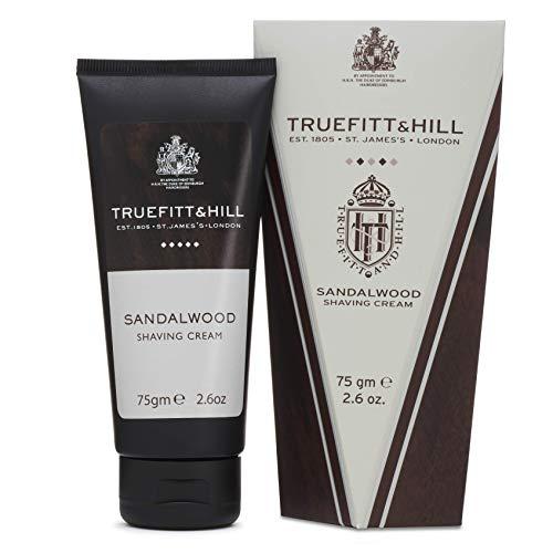 Truefitt & Hill 75 g NUEVO tubo de crema de afeitado de madera de sándalo