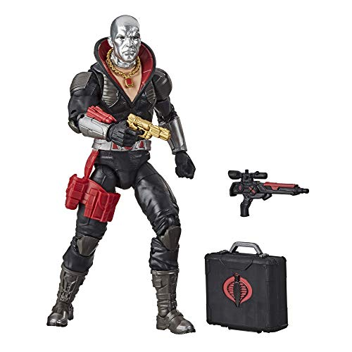 G.I. Joe Classified Series Destro Action Figure 03 Collectible Premium Toy with Multiple Accessories 6-Inch Scale with Custom Package Art