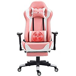 Pink Gaming Chair for Girls