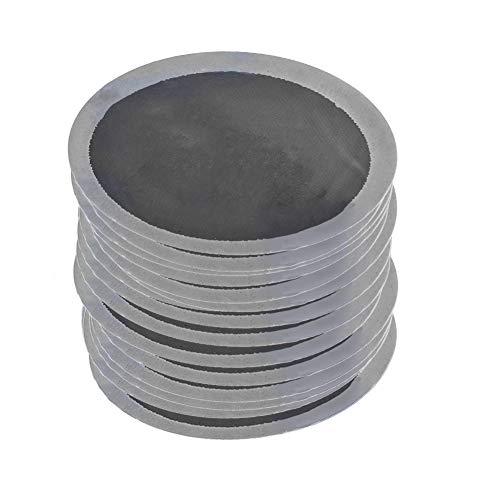 Tarente 200pcs / Caja de 32 mm de Coches Ronda Caucho Natural Neumático Neumático de reparación de neumáticos sin cámara de frío Patch Parches