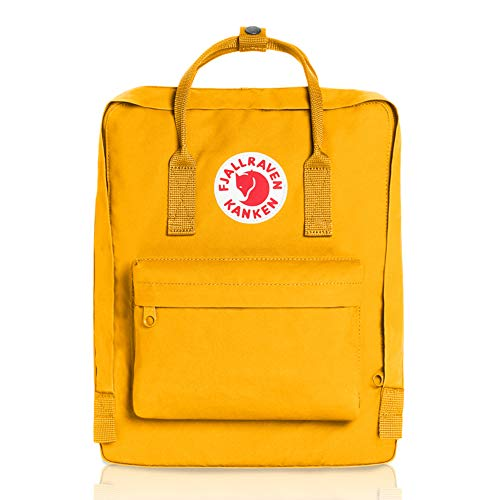 Fjallraven, Kanken Classic Backpack for Everyday, Warm Yellow