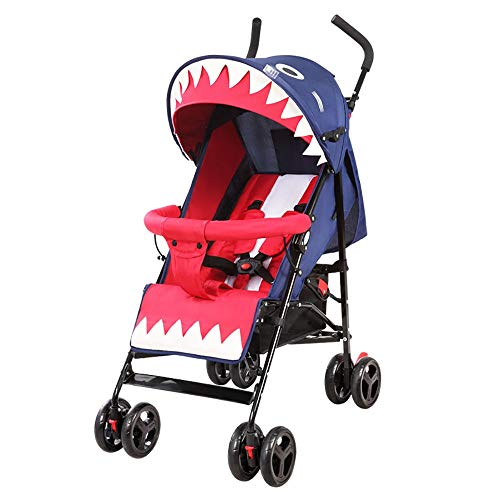 Best Price Ultra-Light Portable Seatable Stroller Child Shock Absorber Trolley Foldable Four-Wheeled...