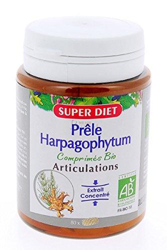 Super diet - Mélange prêle harpagophytum - comprimés 80 - Soulage les articulations