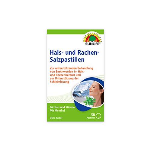 SUNLIFE Hals- und Rachen-Salzpastillen, 43.3 g