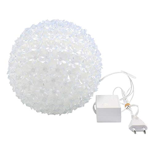 Huante LED impermeable flor de cerezo bola guirnalda de luces brillantes para la fiesta de No?L Festival Decor Enchufe UE