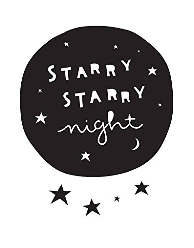 Starry Night Wall Stickers - A Little Lovely Company