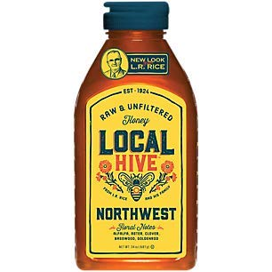 Northwest Local Honey Raw Unfiltered Floral Notes (24 Ounces)