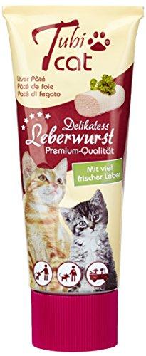 TubiCat Leberwurst , 2er Pack (2 x 75 g)