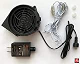 AIR CHARACTERS Replacement 1.0a Fan Blower for Gemmy Airblown Inflatable 12v/1.0a Adapter - Model #JDH9733S