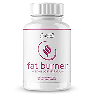 Premium Fat Burner for Women - Weight Loss Pills - Appetite Suppressant - Metabolism Booster, B12 Energy, Natural Thermogenic Diet Pills Supplement, Garcinia Cambogia Extract, 60 Capsules