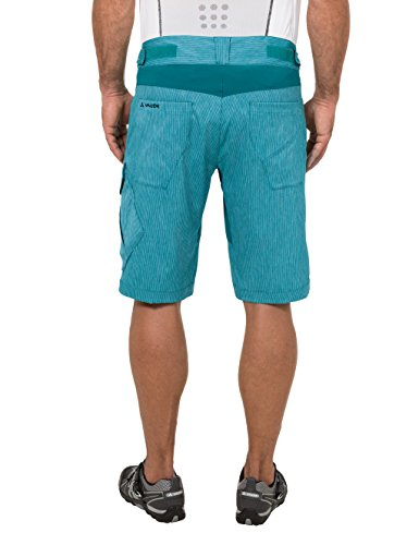 VAUDE Herren Hose Tremal Zip Off Shorts, Green Spinel, S, 05509 - 2