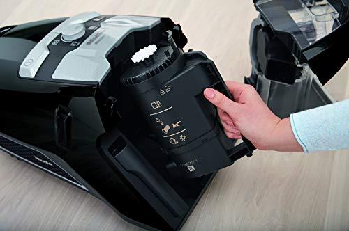 Miele Aspirateur sans sac Blizzard CX1 Ecoline Noir obsidien