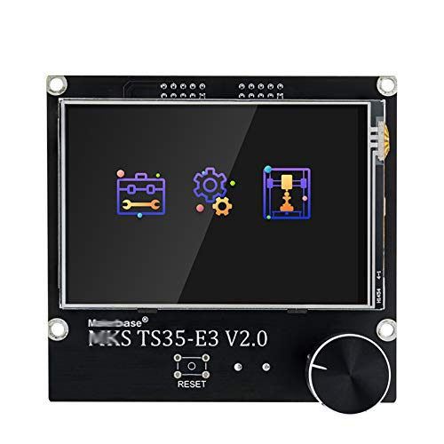 JIJIONG Printer Smart Display/Fit For MK.S TS35 / TS35-E3 3.5 Touch Screen/Fit For MK.S Robin Nano V2 E3P SGen_L (Color : MKS TS35 E3)