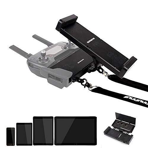 HUANRUOBAIHUO Porte Pliante Contrôleur 4.7in-12.9in Phone/Tablet Support étendu + Ceinture Cadeau for DJI Spark Pro Mavic2 Mini Mavic AIR Quadrocopter Zubehör