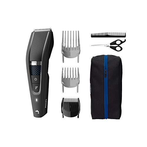 Philips Hc5632/15 Haar- und Bartschneider Serie 5000 mit weicher Federtasche und Barber-Set
