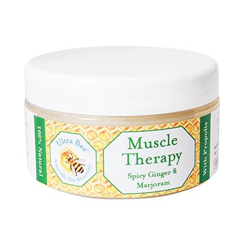 Ultra Bee Thérapie de Massage Musculaire Chauffante 100% Naturelle 100 ml