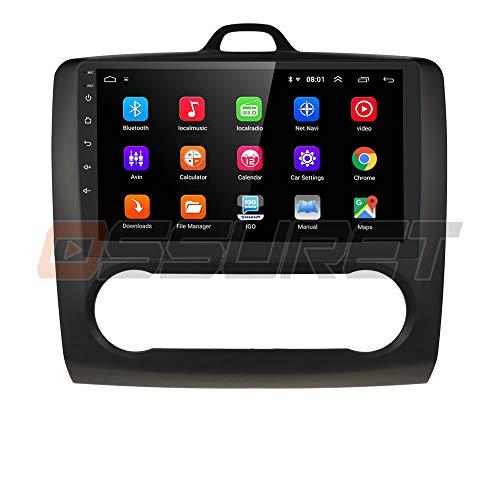 9 Pulgadas 2 DIN Android 10 Quad Core 2 + 16 GB Navegador GPS EstÉReo para AutomÓVil Adecuado para Ford Focus Exi En 2004-2011 Admite Bluetooth 4.0 Radio WiFi 4G