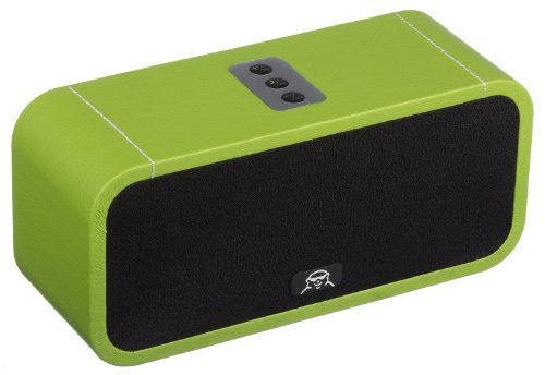 Fatman Music Box One Portable Wireless Bluetooth Speaker Compatible with Smartphone, iPod and iPad - Green