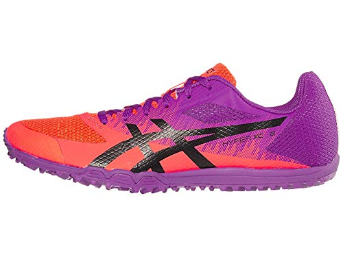 ASICS Hyper XC 2 Track & Field Shoes, Orchid/Black, 11.5 M US