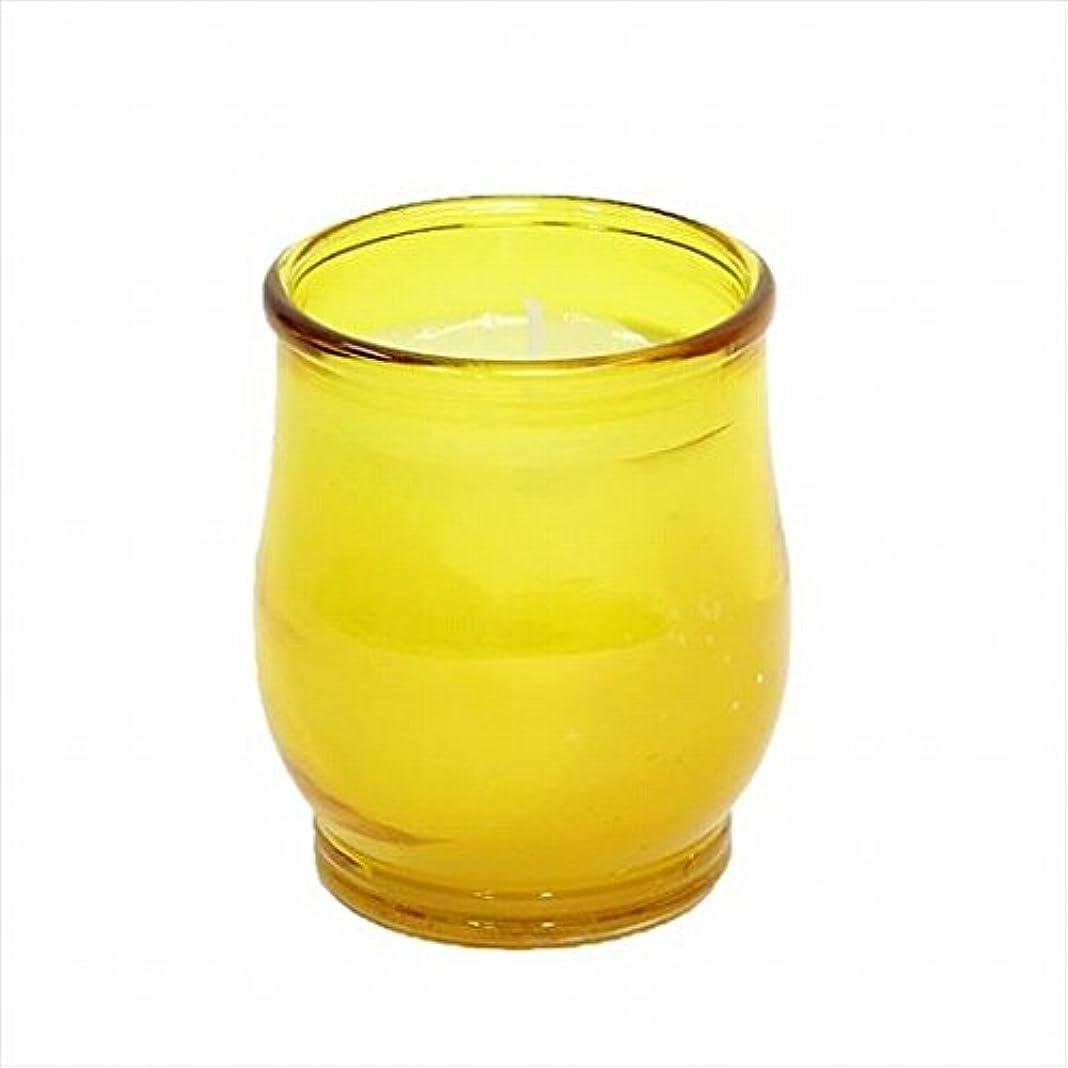 トロピカル評価するワイドカメヤマキャンドル(kameyama candle) ポシェ(非常用コップローソク) 「 アンバー 」