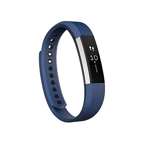 Digit.Tail Cinturino Morbido Silicone Sport Band Cinturini di Ricambio Accessori per Fitbit Alta e Fitbit Alta HR (Blu - Large)