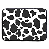 Animal Cow Print Pattern 13-15 Inch Laptop Sleeve Bag Portable Water Resistant Computer Liner Laptop Case Notebook Cover