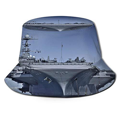 Yoliveya Sombrero de Pesca,Portaaviones Enorme en el océano...