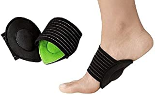 1/2 pair Arch Supports for Plantar Fasciitis,Cushioned Compression Support Sleeves for Plantar Fasciitis Support & Flat Fo...