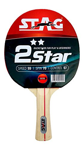Fantastic Prices! Stag 2 Star Table Tennis Bat