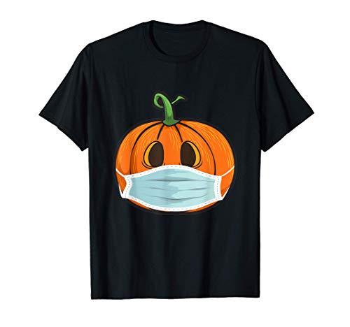 Calabaza con máscara | Disfraz Halloween Gift Funny Pumpkin Camiseta