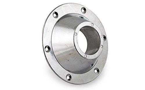 wellenshop Befestigung, Aufschraubrosette für Tischfuß für Tischbeine mit 57 mm Durchmesser Leichtmetall Druckguss für Boot, Jacht, Caravan, Wohmobil.