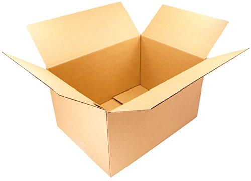 【 日本製 】 ダンボール (段ボール) 10枚セット 100サイズ 引越し 梱包 収納 箱 (41.2×30.7×24.3cm) C2-10