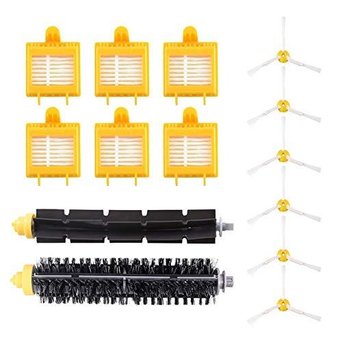 Style wei Accesorios para Aspiradora Filtro HEPA + + Cepillo Lateral de cerdas del Cepillo batidor Kit for iRobot Roomba Serie 700 760 770 780 790 Piezas de Robot Aspirador (tamaño : HXL6150)