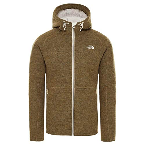 THE NORTH FACE Herren Zermatt Fz Hooded Jacke Fleecejacke Fleecepullover