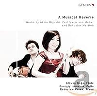 Miyoshi/Weber/Martinu: a Music