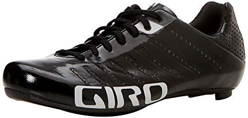 Giro Empire SLX Road, Zapatos de Ciclismo de Carretera para Hombre, Multicolor (Black/Silver 000), 43 EU