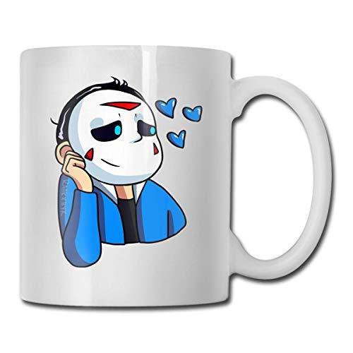 N\A Taza de café Divertida de 11 onzas, Tazas de Juego H2o-Delirious, cumpleaños único para Mujeres, Hombres