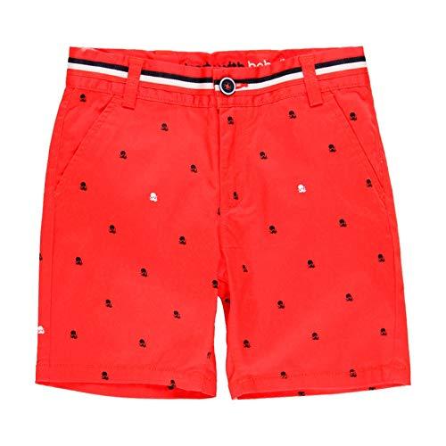 Boboli Junge Kurze Hose elastisch mit Tintenfischen 739379, rot (128)